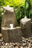 Клокоча фонтаны воды Стоковое Фото