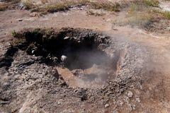 Клокоча ` Hervideros января Jacinto ` источника, Никарагуа Стоковые Изображения