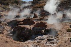 Клокоча ` Hervideros января Jacinto ` источника, Никарагуа Стоковые Фото