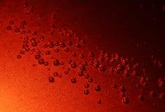 клокочет красный цвет Стоковое фото RF
