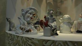 Клоуны Figurines видеоматериал