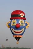 клоун воздушного шара горячий стоковое изображение