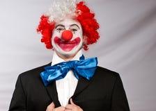 клоун дела Стоковое Фото