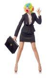 Клоун женщины Стоковая Фотография RF