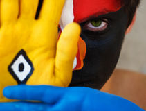 клоун любит Стоковое фото RF
