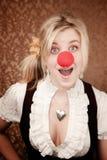 клоун милый Стоковая Фотография RF