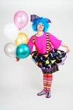 клоун смешной Стоковые Фото