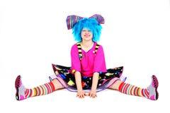 клоун смешной Стоковое Изображение