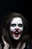 клоун страшный Стоковые Изображения RF