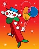 клоун счастливый Стоковые Фотографии RF