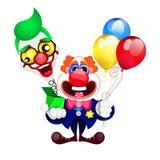 Клоун шаржа красивый Стоковое Изображение RF