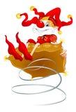 клоун Стоковое Изображение RF