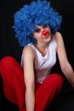 клоун 2 сексуальный стоковая фотография