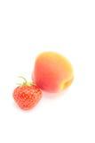 клубника абрикоса Стоковые Фото