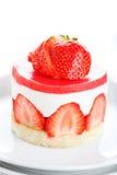 клубника десерта торта стоковые изображения