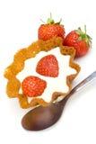 клубника десерта Стоковое Изображение RF