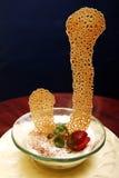 клубника десерта toping Стоковая Фотография RF