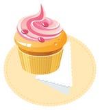 клубника крышки торта Стоковая Фотография RF