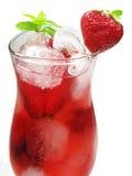 клубника пунша плодоовощ питья коктеила Стоковые Фото
