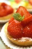 клубника торта вкусная Стоковые Фотографии RF