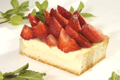 клубника торта Стоковая Фотография