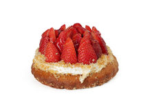 клубника торта Стоковая Фотография RF