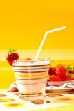 клубника десерта Стоковые Изображения RF