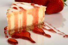 клубника cheesecake Стоковые Изображения