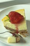 клубника cheesecake Стоковые Фотографии RF
