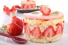 клубника shortcake стоковое изображение