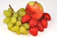 клубники груши виноградины Стоковые Фотографии RF