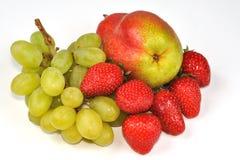 клубники груши виноградины Стоковые Изображения RF