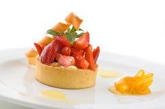 клубники десерта сладостные стоковое фото rf