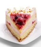 клубники десерта торта Стоковые Фотографии RF