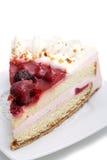 клубники десерта торта Стоковая Фотография