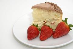 клубники десерта торта Стоковые Фото