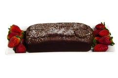 клубники шоколада торта Стоковое фото RF