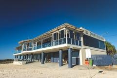 Клуб спасения жизни прибоя Викингов пляжа Currumbin стоковое изображение rf