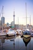 Клуб яхты Торонто Стоковая Фотография