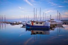 Клуб яхты Торонто Стоковое Фото