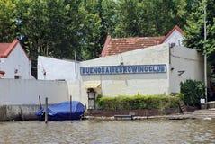 Клуб rowing Буэноса-Айрес в Tigre, Аргентине стоковая фотография
