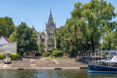 Клуб rowing Буэноса-Айрес - Tigre, Буэнос-Айрес, Аргентина стоковые изображения rf