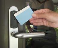Ключевая карточка Стоковая Фотография RF