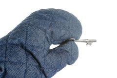 ключевая печь перчатки Стоковая Фотография
