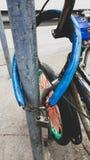Ключевая цепь для велосипеда Стоковое Изображение RF