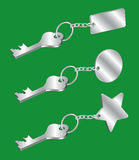 ключевое keychain Стоковое Изображение