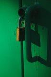 ключевой замок вниз стоковые изображения rf