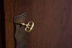 ключевой замок Стоковые Фотографии RF