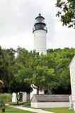 Ключевой западный маяк Стоковые Фотографии RF