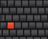 ключевой красный цвет Стоковые Фото